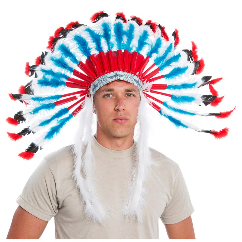Western Authentic Indian Headdress Adult for the 2015 Costume season.