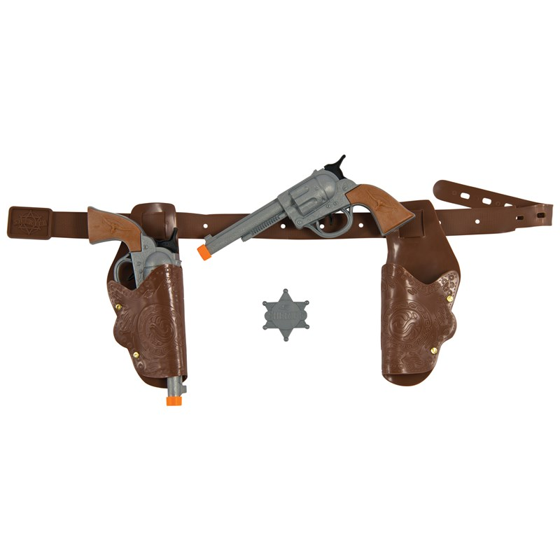 Authentic Western Gunman Belt Holster Adult for the 2015 Costume season.