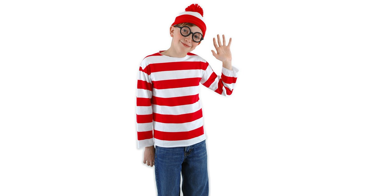 Where S Waldo Child Costume Kit Buycostumes Com