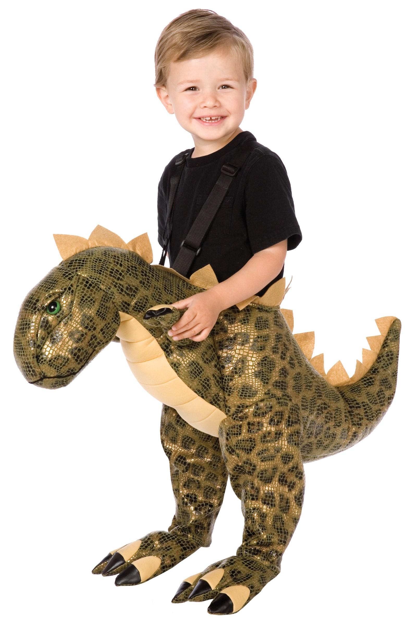 Image of Plush T-Rex Child Costume