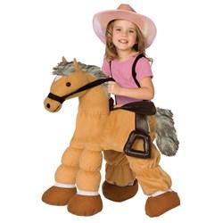 Plush Pony Child Costume