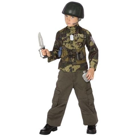 Army Ranger Child Costume Kit