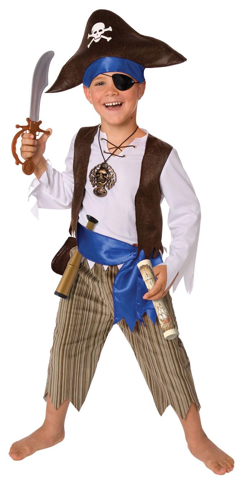 Как создать костюм пирата