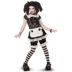 Gothic Rag Doll Child/Tween Costume