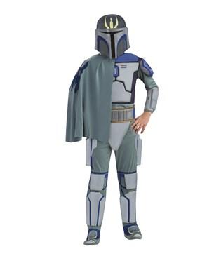 Star Wars Clone Wars Deluxe Pre Vizsla Trooper Child Costume