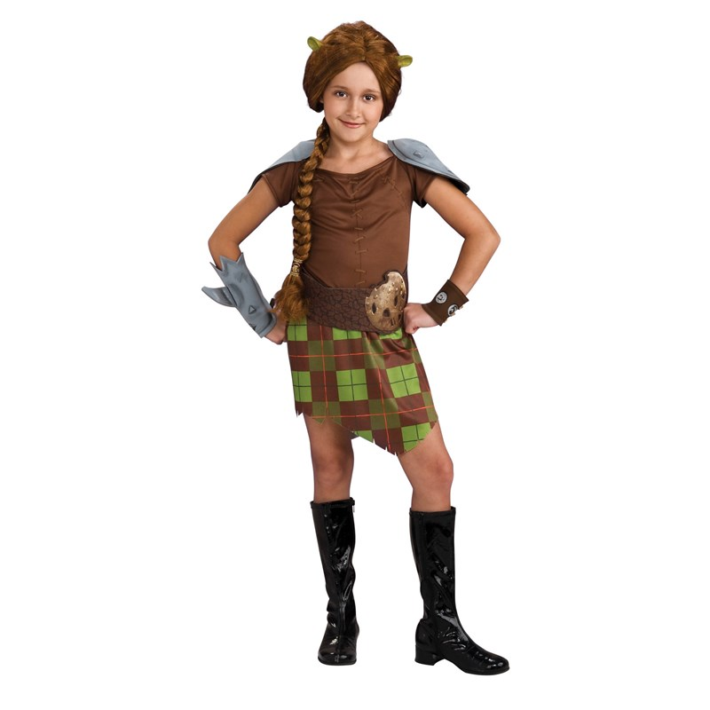 Shrek Forever After   Fiona Warrior Child Costume for the 2015 Costume season.
