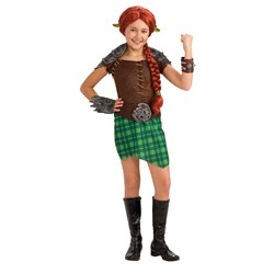 Shrek Forever After - Deluxe Fiona Warrior Toddler / Child Costume