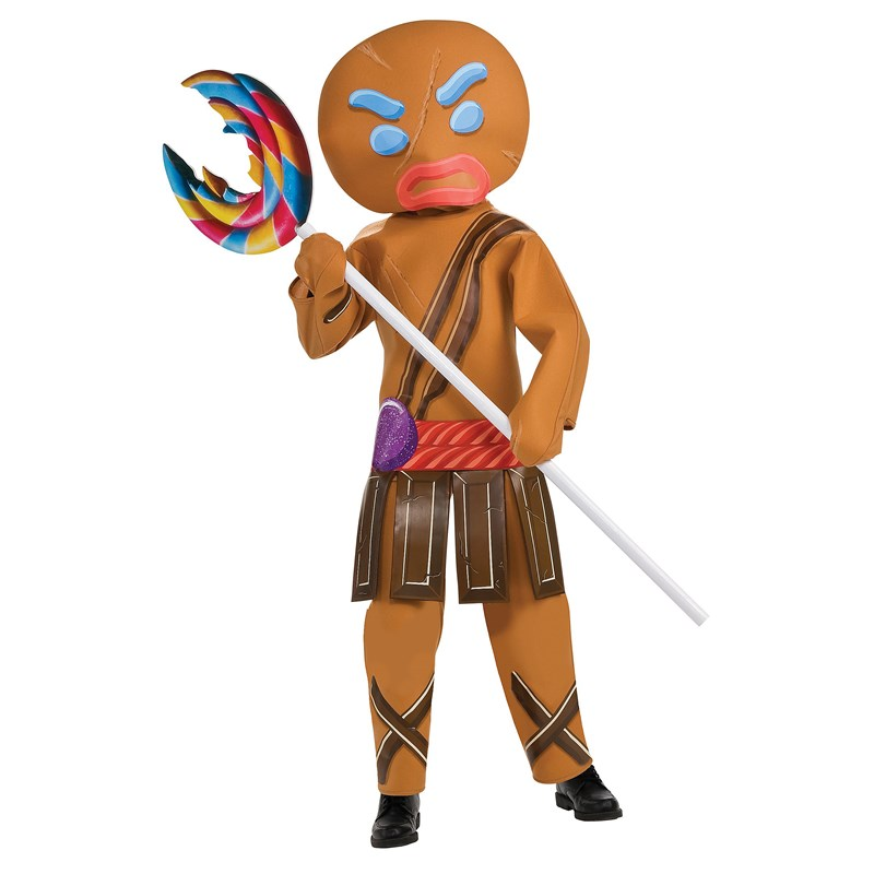 Shrek Forever After   Gingerbread Warrior Child Costume for the 2015 Costume season.