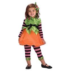 Pumpkin Spice Toddler Costume