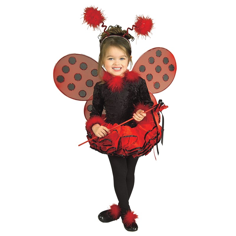 Deluxe Lady Bug Toddler  and  Child Costume for the 2015 Costume season.