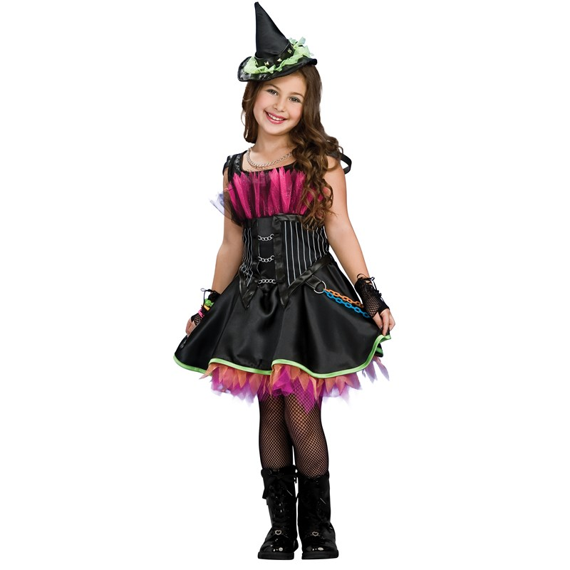 Rockin Out Witch Child Costume for the 2015 Costume season.