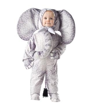 Grey Elephant Toddler / Child Costume