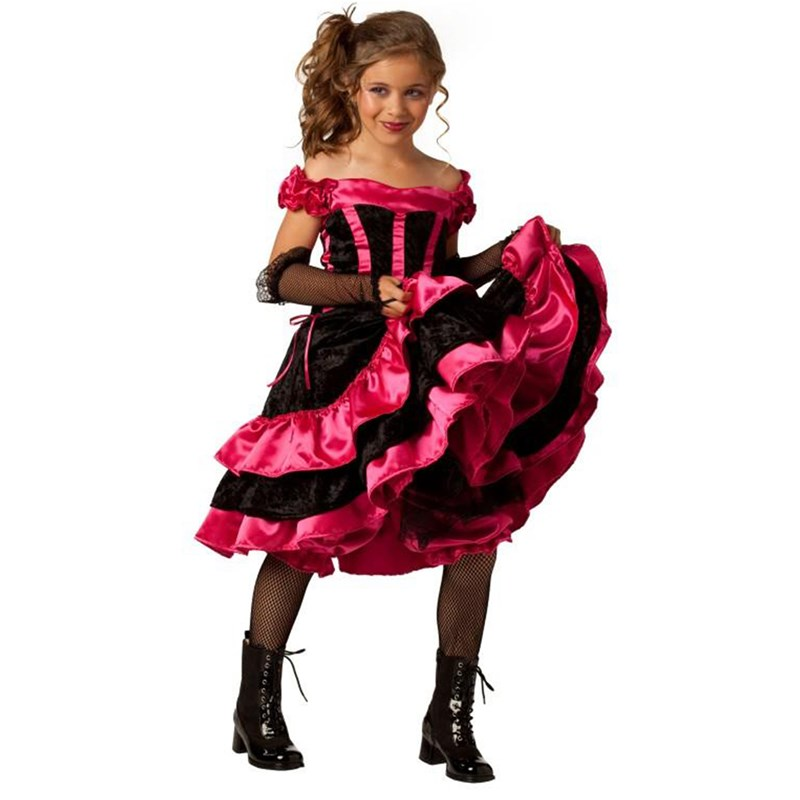Can Can Dancer Child Costume for the 2015 Costume season.