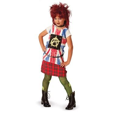 80's Punk Child Costume