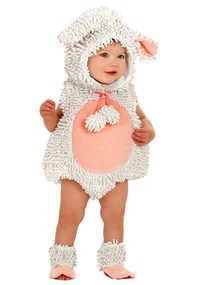 Click Here to buy Little Lamb Baby & Toddler Costume from BuyCostumes