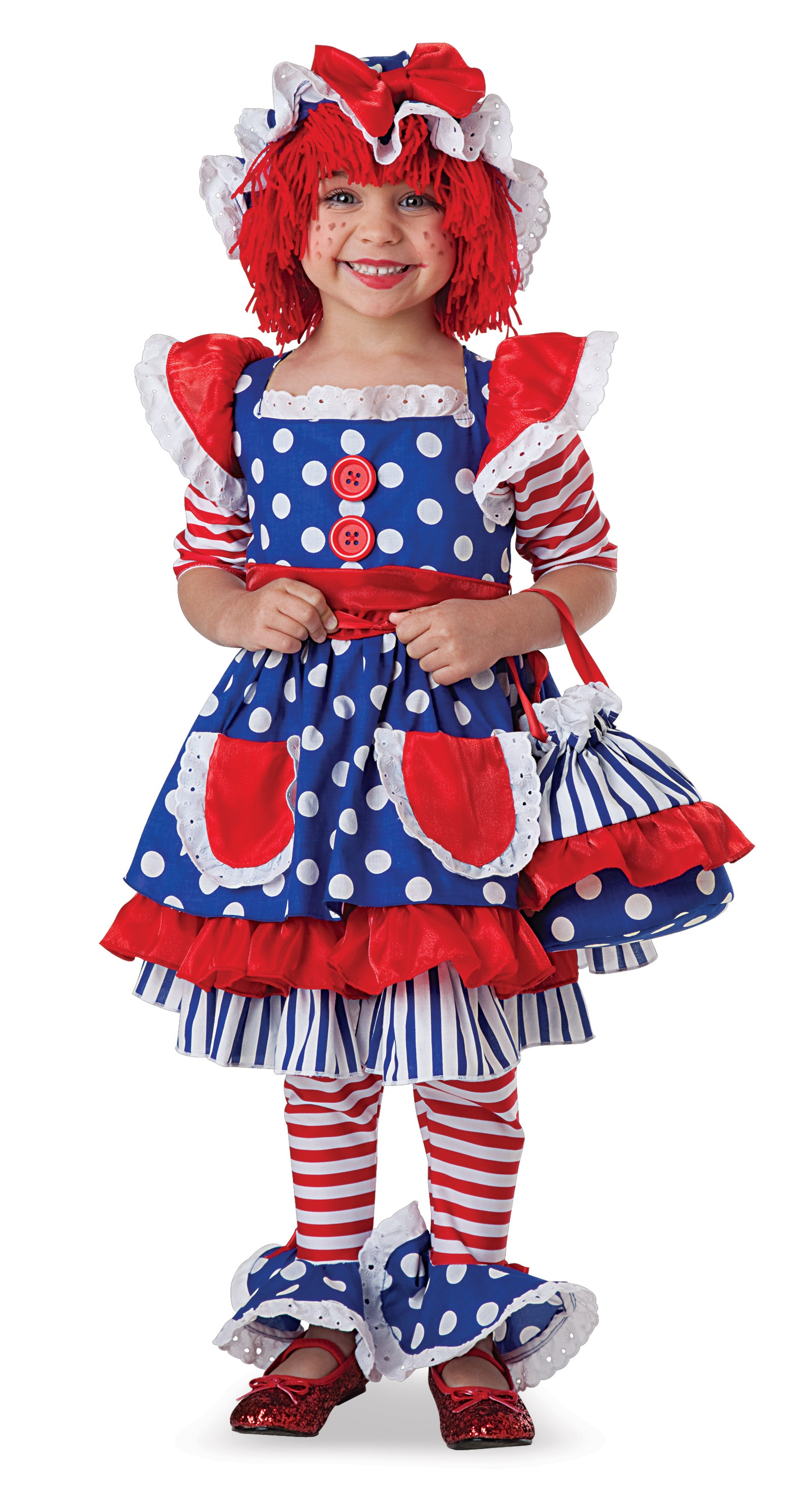 Rag Doll Toddler / Child Costume