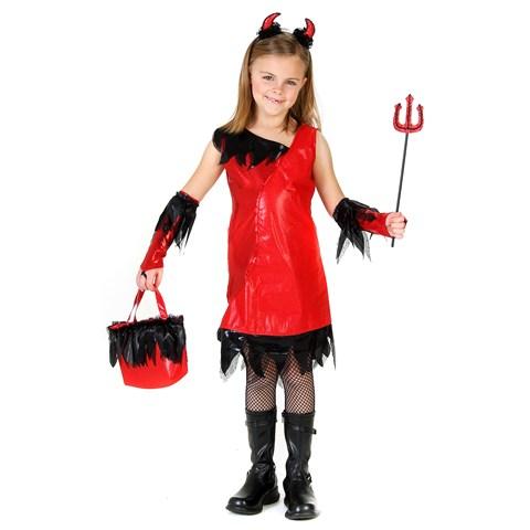 Devil Girl Child Costume