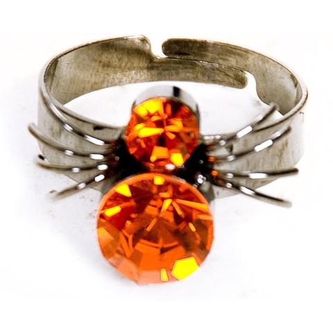 Spider Gem Ring
