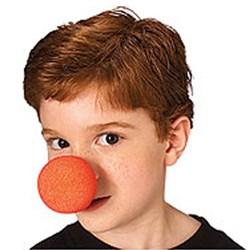 Red Sponge Clown Nose