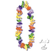 Economy Silk Flower Leis