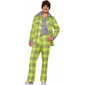 70s Plaid Leisure Suit Adult Costume