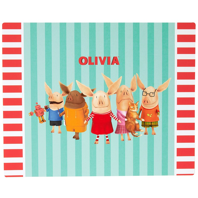 Olivia Activity Placemats (4 count) for the 2015 Costume season.