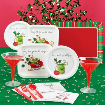 Merry Cocktails Deluxe Party Kit
