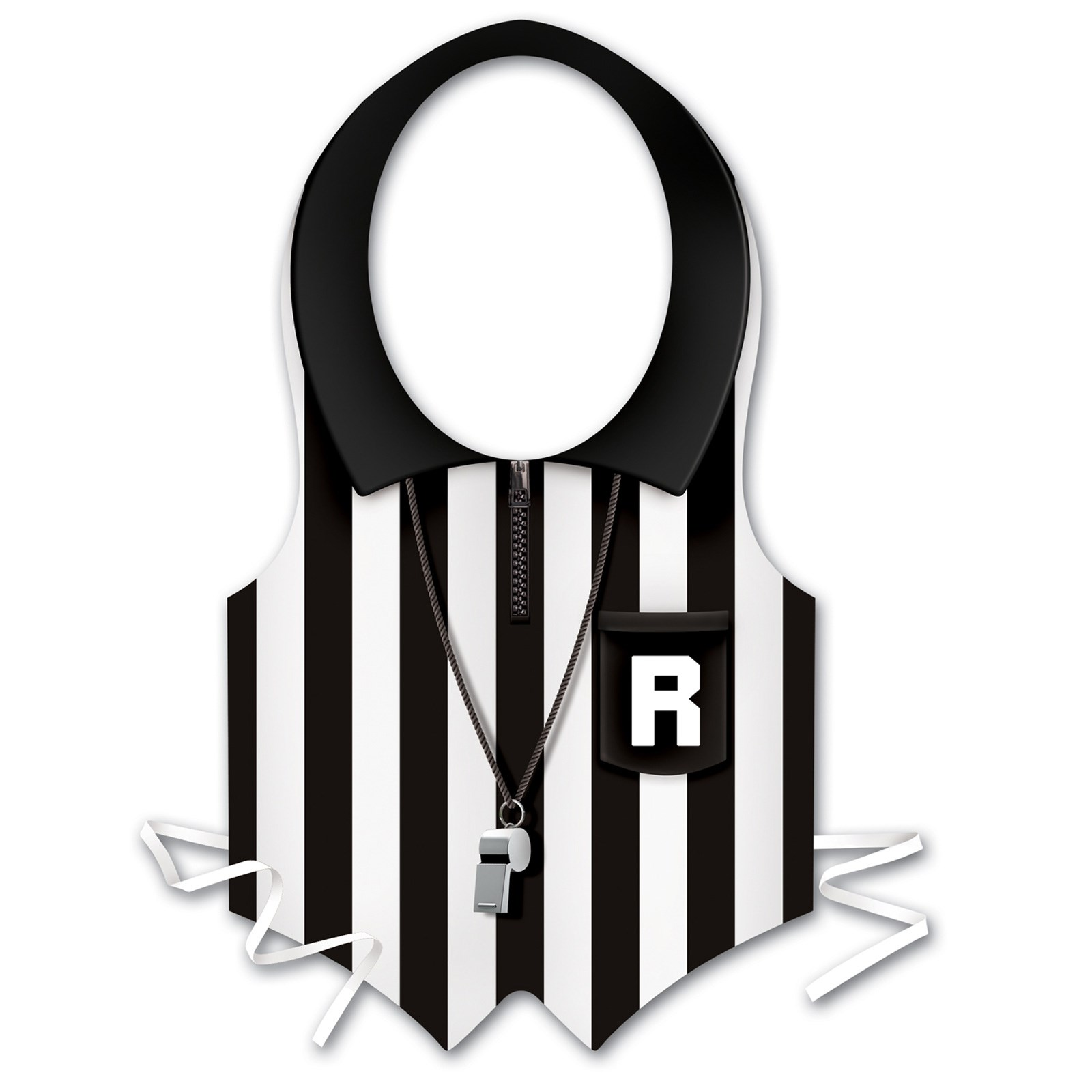 Plastic Referee Vest