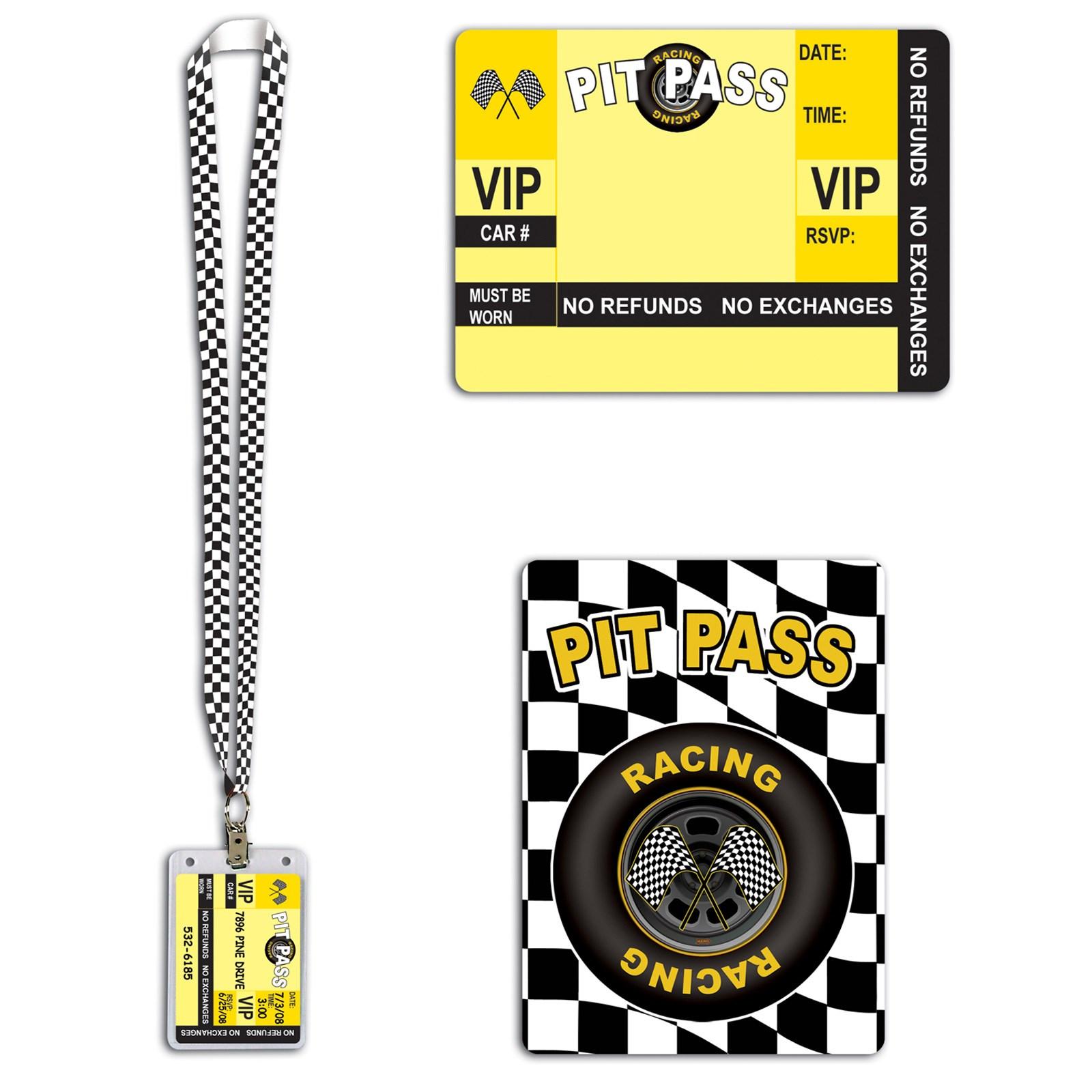 "Image of 25"" Racing Pit Pass"