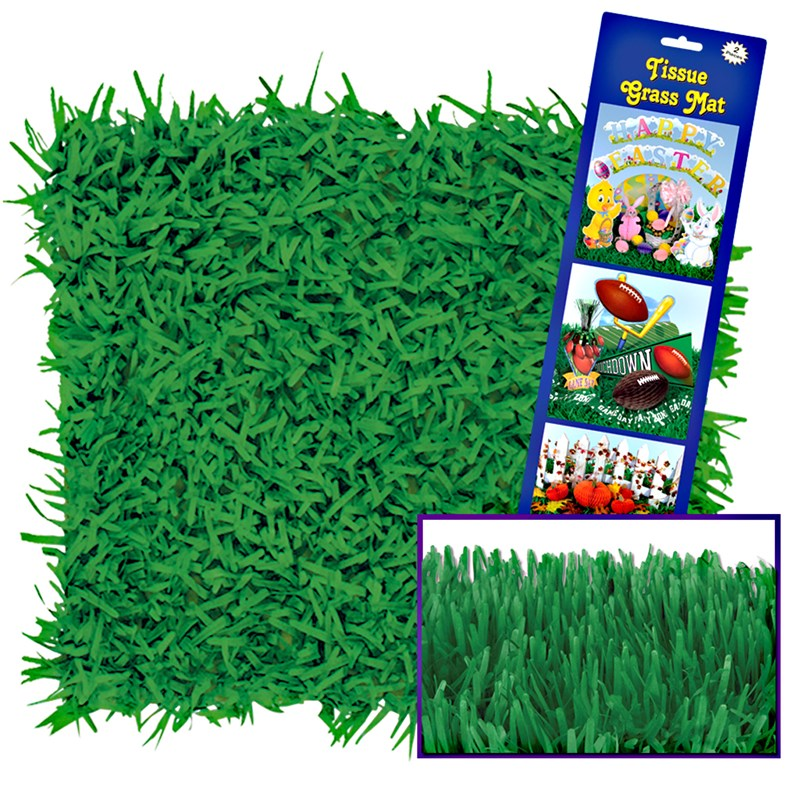 Green Grass Tissue Mats (2 count) for the 2015 Costume season.