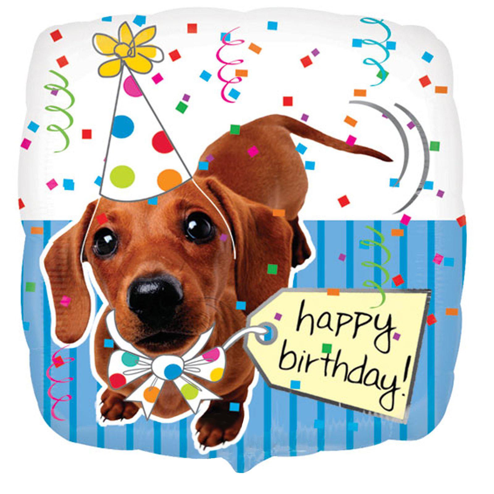 Поздравление с днем рождения с собачкой 95