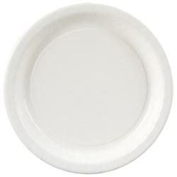 Bright White (White) Dessert Plates (24 count)