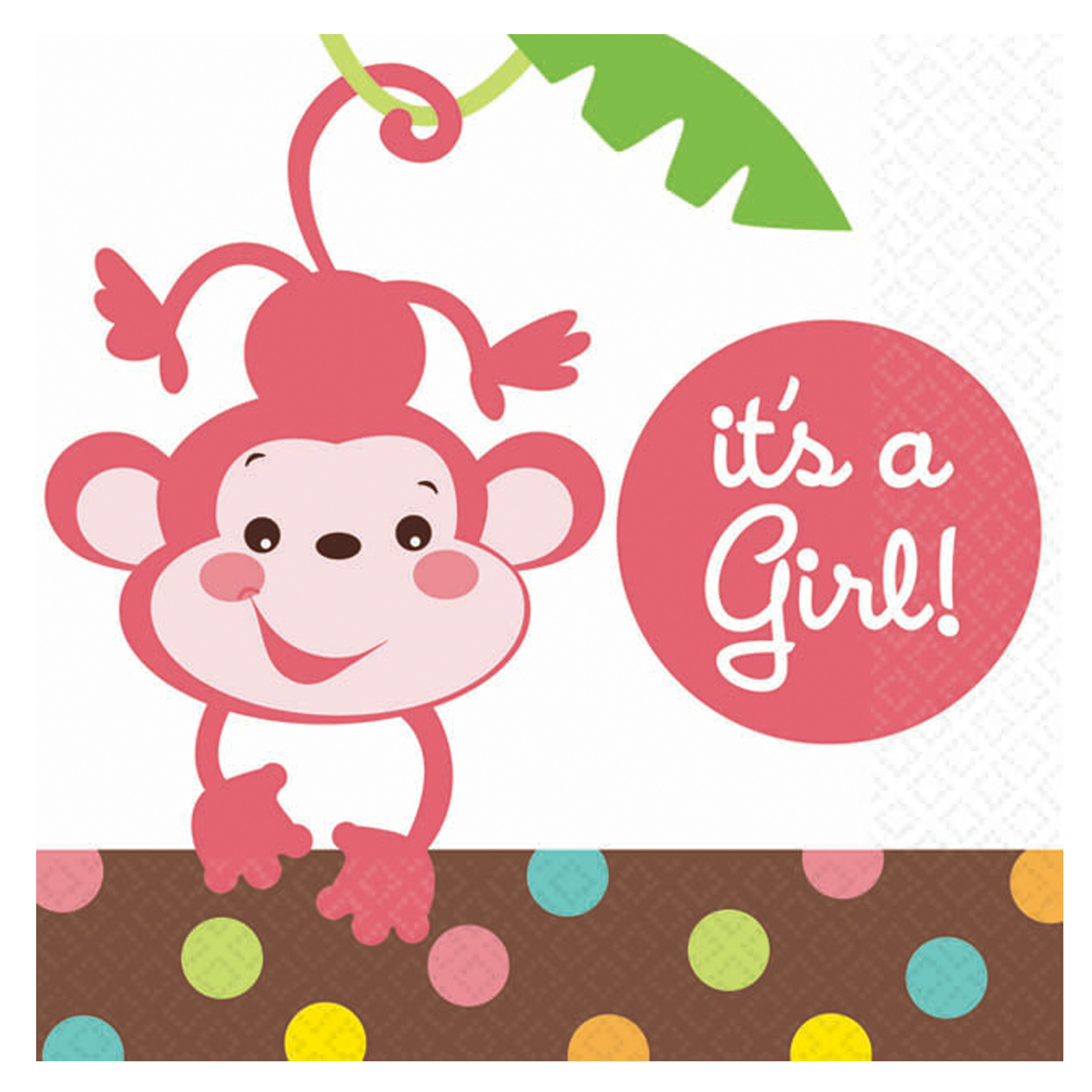 For babies amscan 200402 fisher price baby shower its a girl for babies amscan 200402 fisher price baby shower its a girl beverage napkins offers filmwisefo
