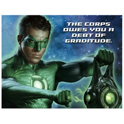 Green Lantern Thank You Cards (8 count)