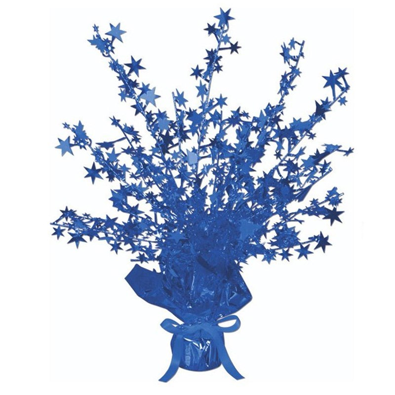 Blue Foil Star Gleam N Burst Centerpiece for the 2015 Costume season.