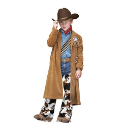 Cowboy Duster Jacket Child Costume