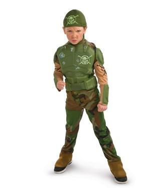 Combat Marine Child Costume