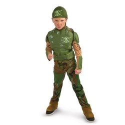 Combat Marine Child Costume