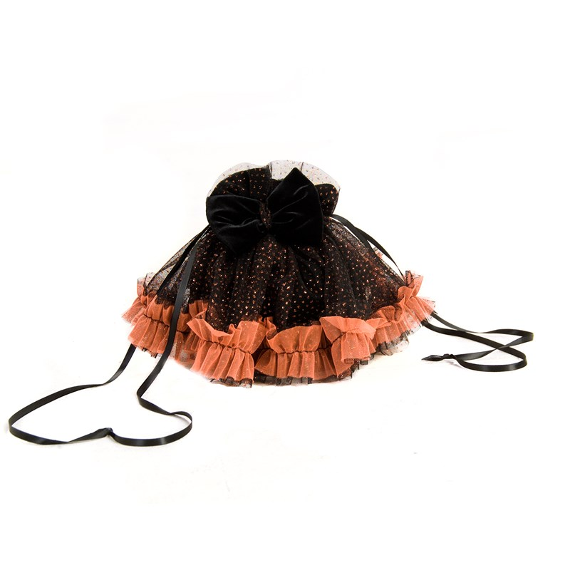 Black and Orange Treat Bag for the 2015 Costume season.