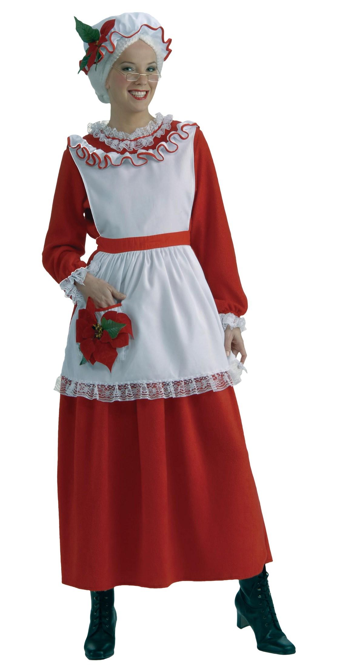 Classic Mrs. Claus Adult Costume