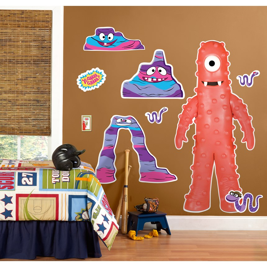 Halloween Costumes Yo Gabba Gabba Muno Giant Wall Decal