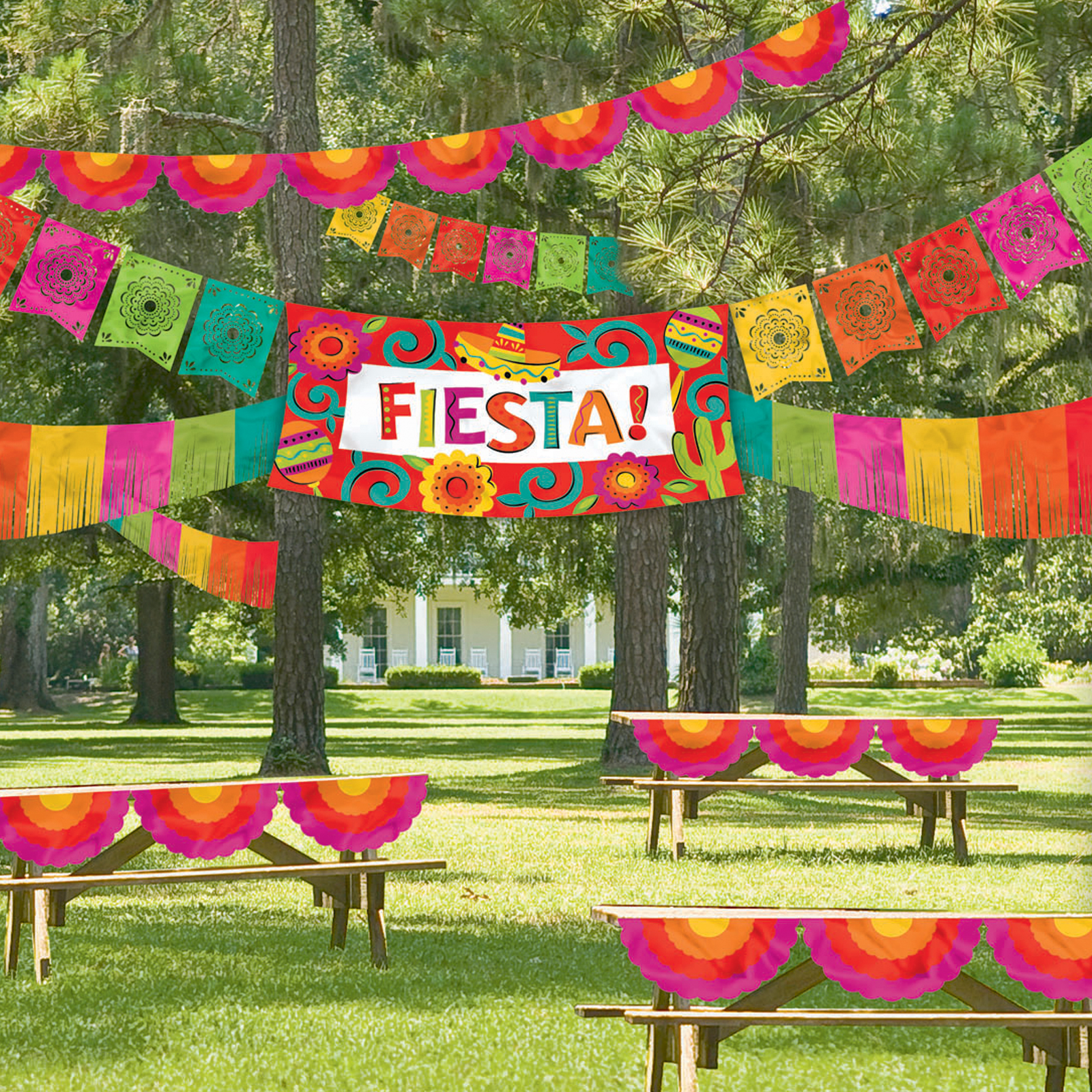 Fiesta party supplies partyelf children 39 s theme birthday for Decoration kit