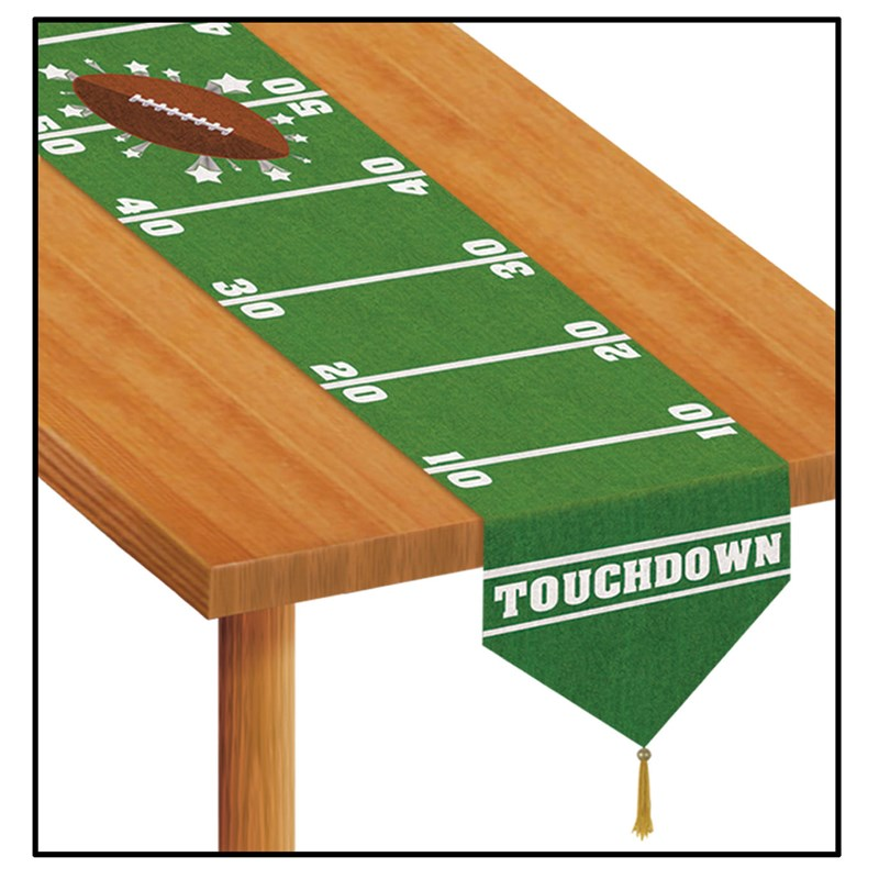 Game Day Football   Printed Table Runner for the 2015 Costume season.