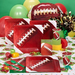 Football Fan Birthday Deluxe Party Kit