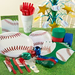 Baseball Fan Party Kit