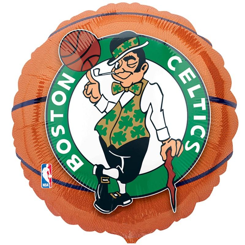 Boston Celtics Basketball   Foil Balloon for the 2015 Costume season.
