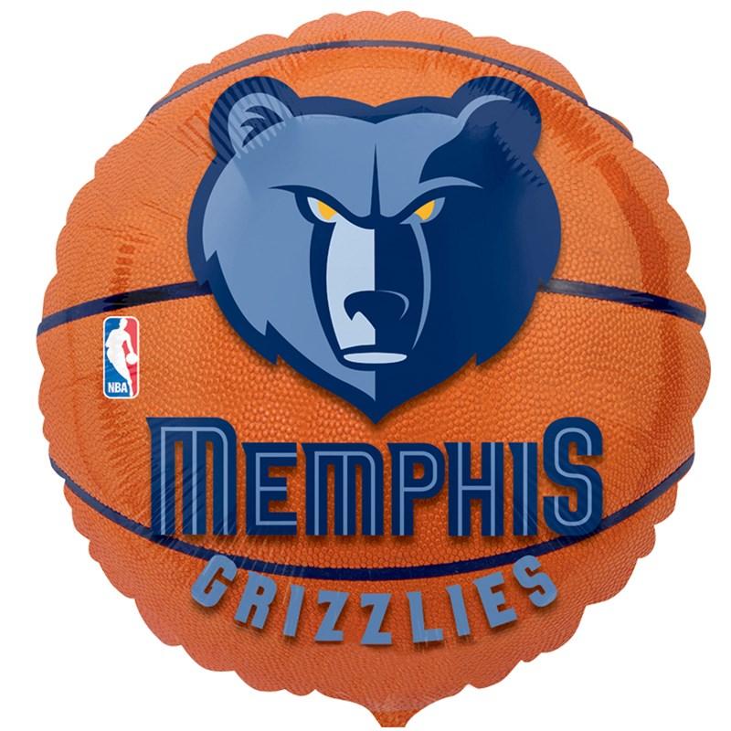 Memphis Grizzlies Basketball   Foil Balloon for the 2015 Costume season.