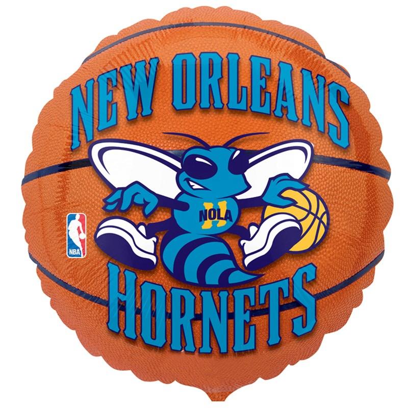 New Orleans Hornets Basketball   Foil Balloon for the 2015 Costume season.