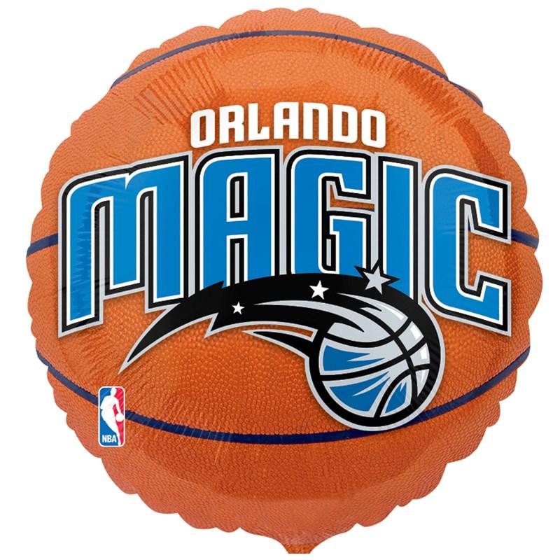 Orlando Magic Basketball   Foil Balloon for the 2015 Costume season.
