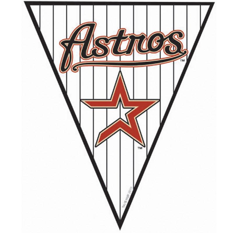 Houston Astros Baseball   12 Pennant Banner for the 2015 Costume season.